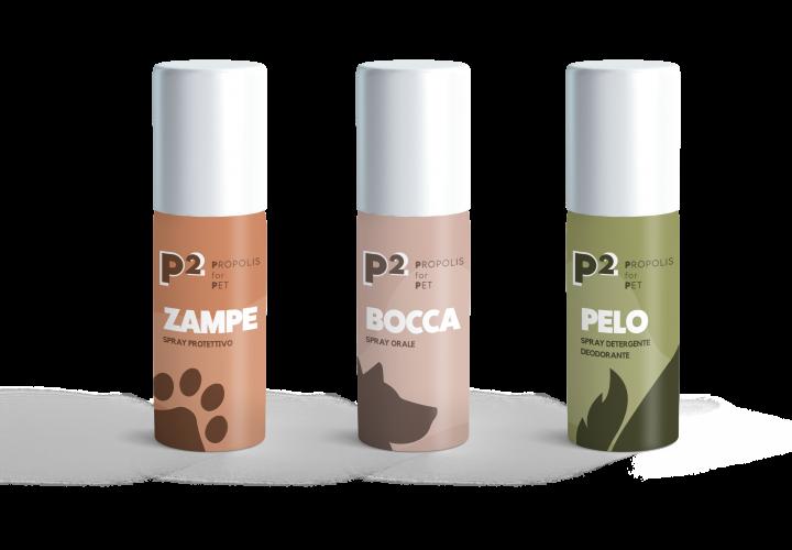 P2 PROPOLIS FOR PET: il kit di prodotti cosmetici per la cura dell'animale domestico